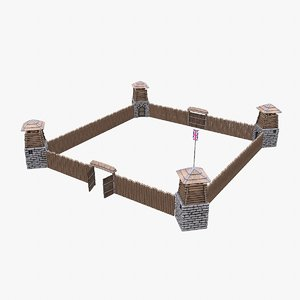 3D fort fortress games