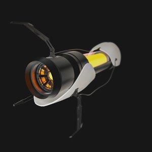 3D portal gun