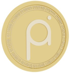 3D project pai gold coin