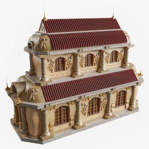 baroque house 1 0 3D model