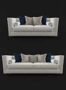 sofa loreto 3D model
