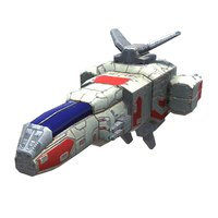 3D light space fighter