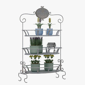 3D decorative shelve