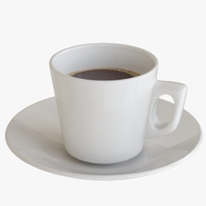 coffee cup porcelain model