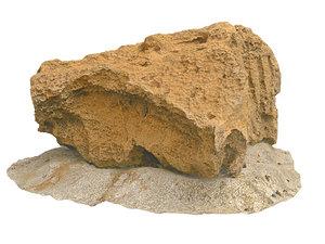 3D model morocco sand rock 16k