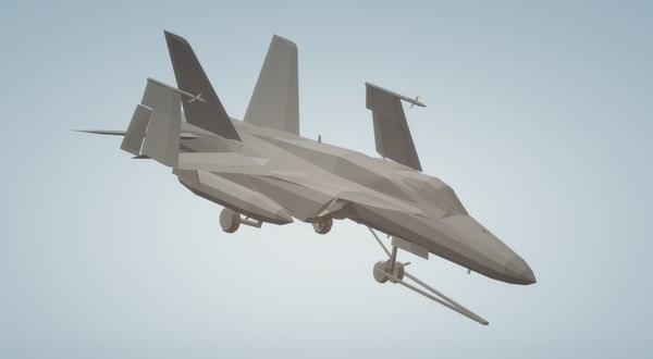 3D f18 super hornet wheels