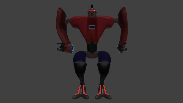 loader robot enemy 3D