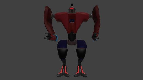 loader robot enemy 3D
