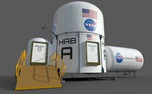 3D habitation unit