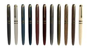 3D luxury fountain pen materials model