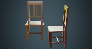 kitchen chair 3a 3D model