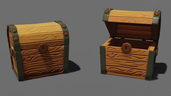 stylized chest model