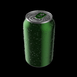 beer water drops model