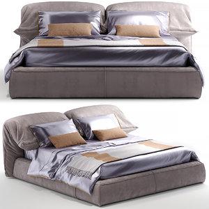 bed pillow 3D