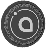 siacoin black coin 3D