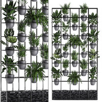 3D plants vertical gardening