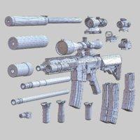3DRT - Modern firearms HD - M7A1