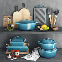 terrines le creuset 3D model