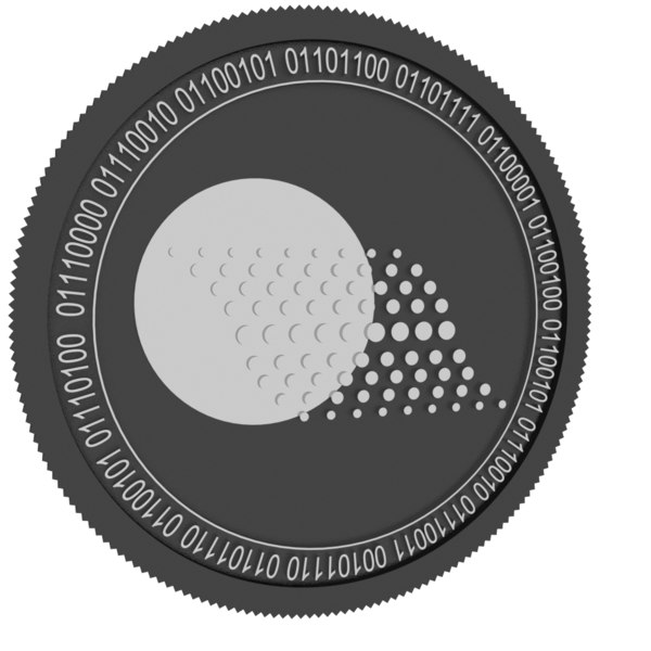 3D thorecoin black coin