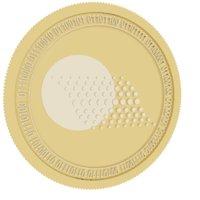 thorecoin gold coin 3D model