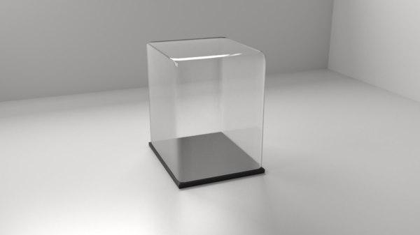 acrylic case 4 3D