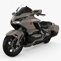 3D honda gold wing model