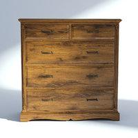 Victorian Dresser Old Natural