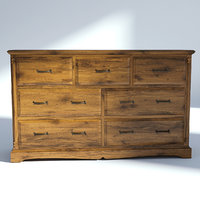 victorian drawer 3D model