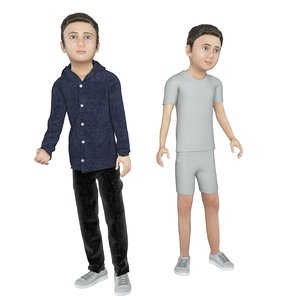 real cloths animation 3D