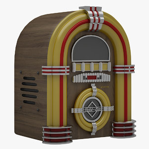 juke box 3D model