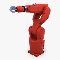 3D generic industrial robot arm model