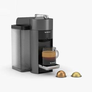3D nespresso espresso machine