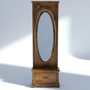 victorian hallway mirror model