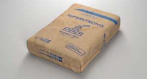 cement bag model