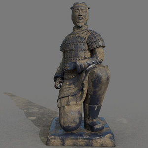 3D china warriors