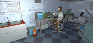 3D model vr laboratory