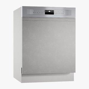 3D realistic dishwasher classic