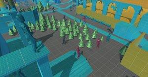 3D model prototype world - pack