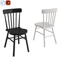 black chair ikea model