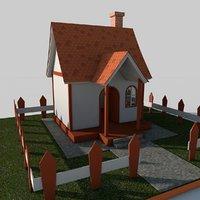 cartoon house 3D