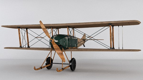aircraft war raf 3D model