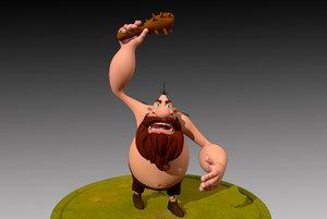 human character 3D model