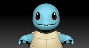 pokemon squirtle 3D