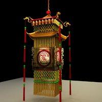 3D chinese palace lantern