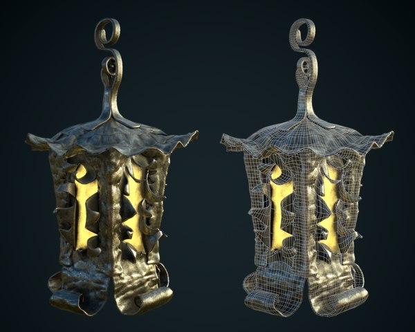old magic lantern model
