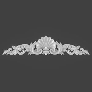 3D ornament furnitures