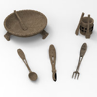 ancient plate fork model