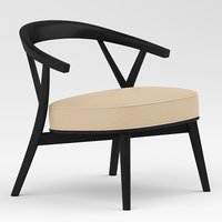 chair furniture cappellini 3D model