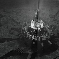 3D concepts futuristic dark ambient