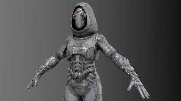 3D ghost fury model